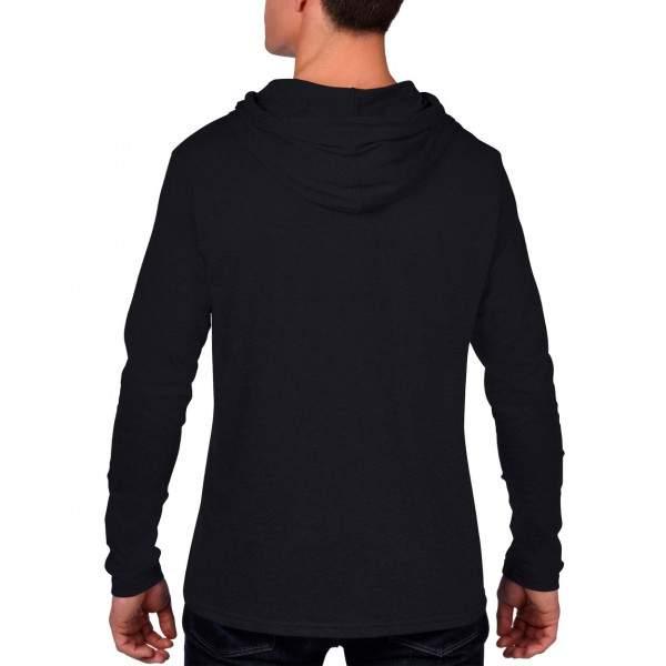 Anvil AN987 férfi kapucnis hosszú ujjú póló