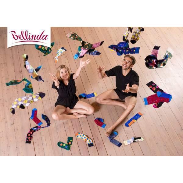 Bellinda Crazy mintás bokazokni - 3 pár