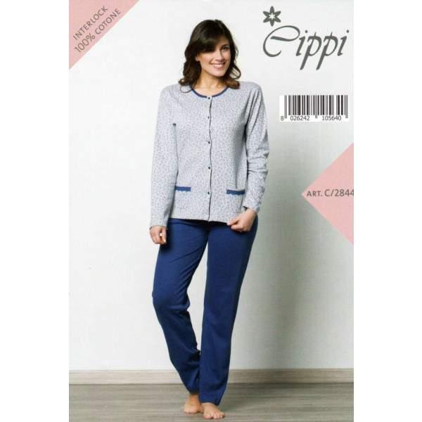 Cippi 2844 női pamut pizsama -   hdiShop.hu   f8b47ac99a