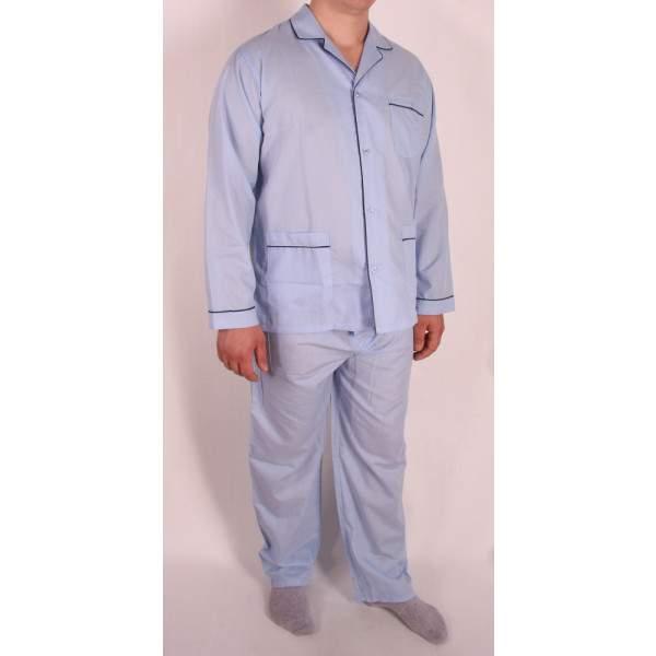 Diplomat WO501 férfi pizsama-azurro chiaro -   hdiShop.hu   0cee66ffa2
