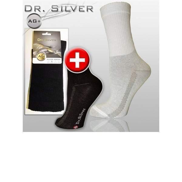 Dr.Silver DRSM01 Medical ezüstszálas gyógy gumi nélküli zokni ... 31e8f275e6