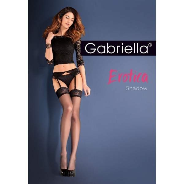Gabriella 8820 Calze Shadow combfix harisnyatartóval