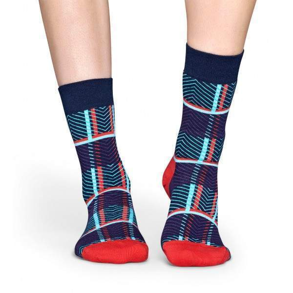 Happy Socks IRTRT01 retro mintás zokni