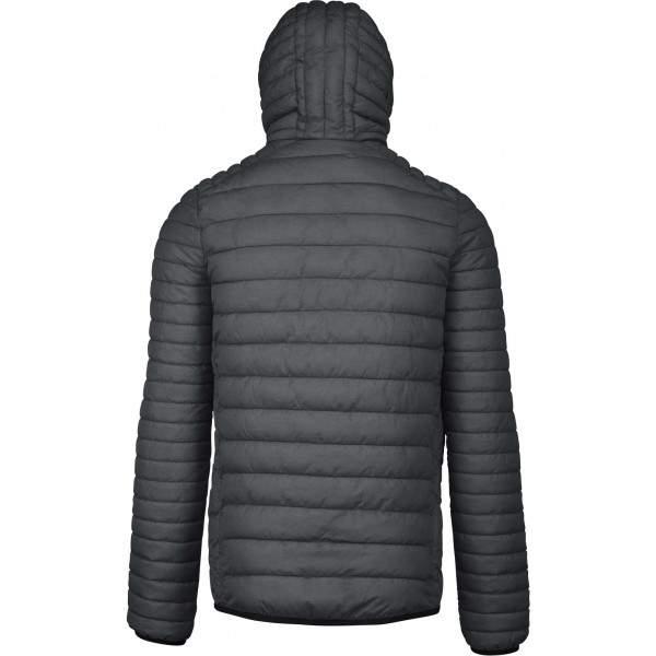 Kariban K6110 férfi kapucnis steppelt dzseki