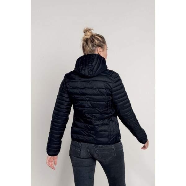 Kariban K6111 női kapucnis steppelt dzseki