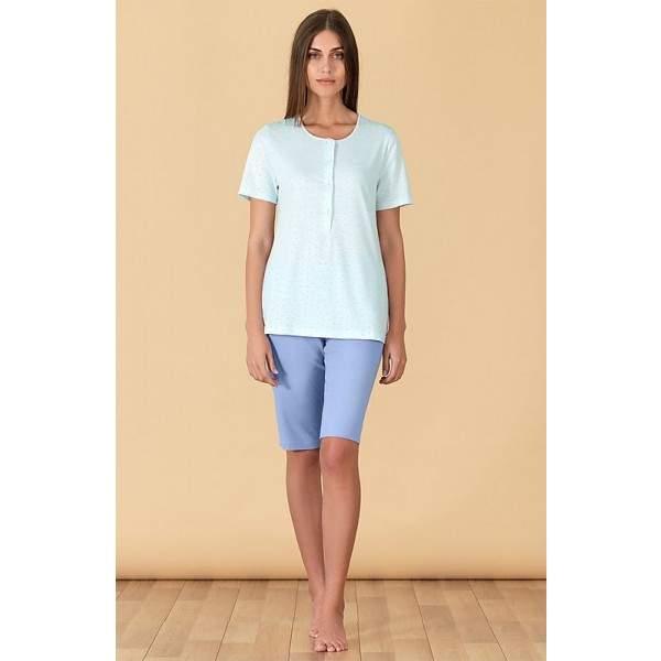 Linclalor 76829 női rövid ujjú pamut pizsama -   hdiShop.hu   b0c30047c3