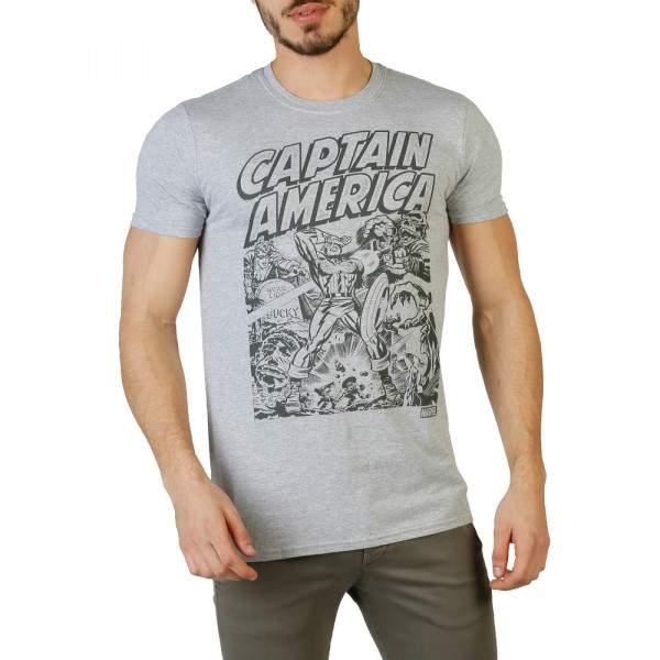 Marvel Captain America Fight Scene férfi rövid ujjú póló