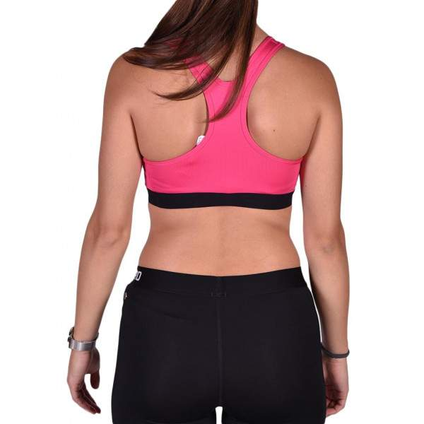Nike Pro Classic fitness sportmelltartó - Pink