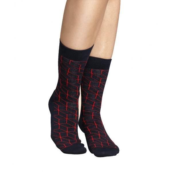 Happy Socks OP01 kocka mintás zokni