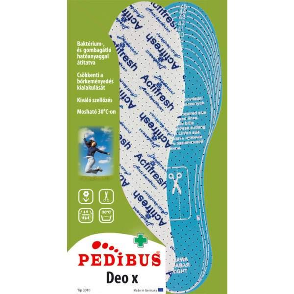 Pedibus 3010 Deo X antibakteriális talpbetét