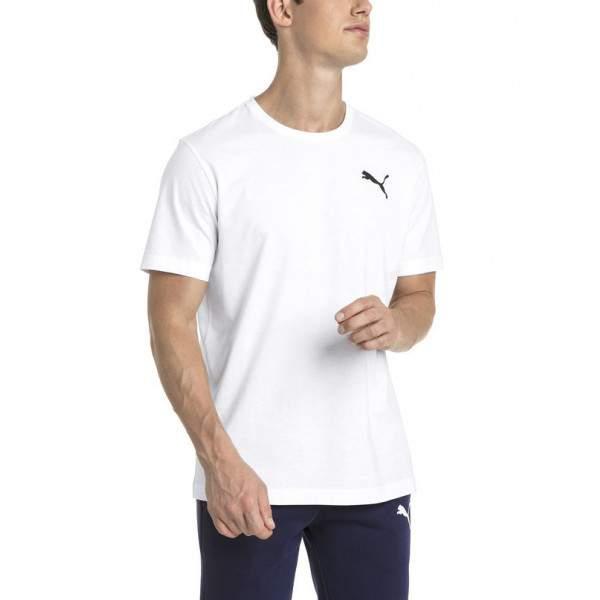 Puma ESS Small Logo Tee férfi póló - fehér -   hdiShop.hu   6c578ad513