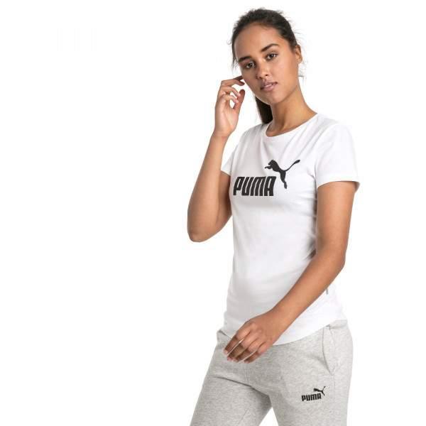 Puma ESS Logo Tee női póló - fehér -   hdiShop.hu   384c1feed4