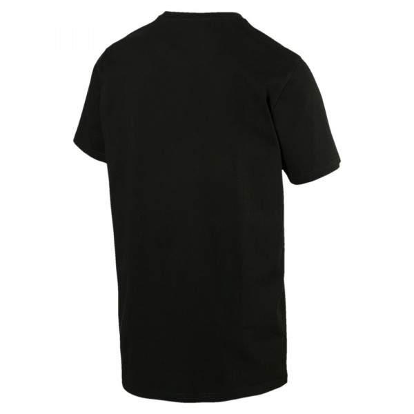 Puma Wording Tee férfi póló - fekete
