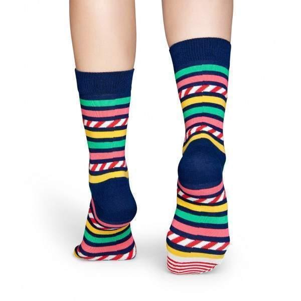 Happy Socks SAS01 csík csík hátán mintás zokni