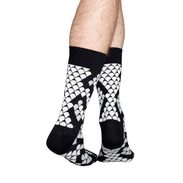 Happy Socks SN01 kígyómintás zokni