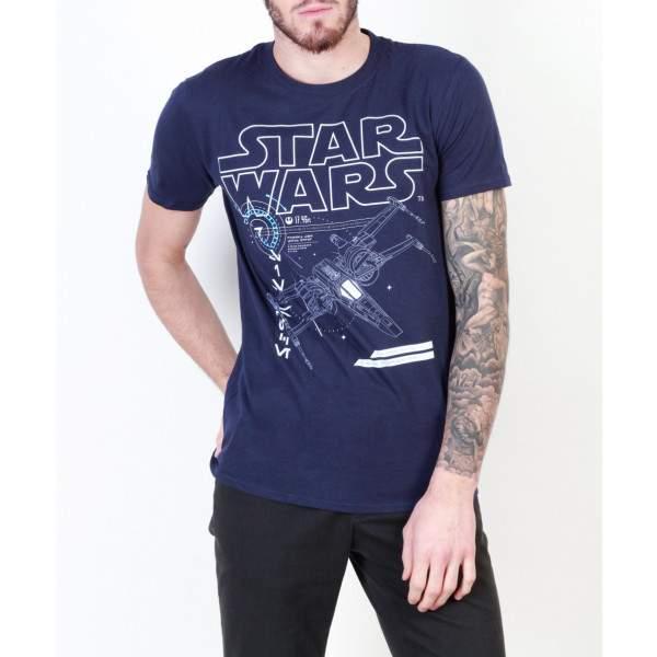 Star Wars X-Wing férfi rövid ujjú póló -   hdiShop.hu   1ec44a6998