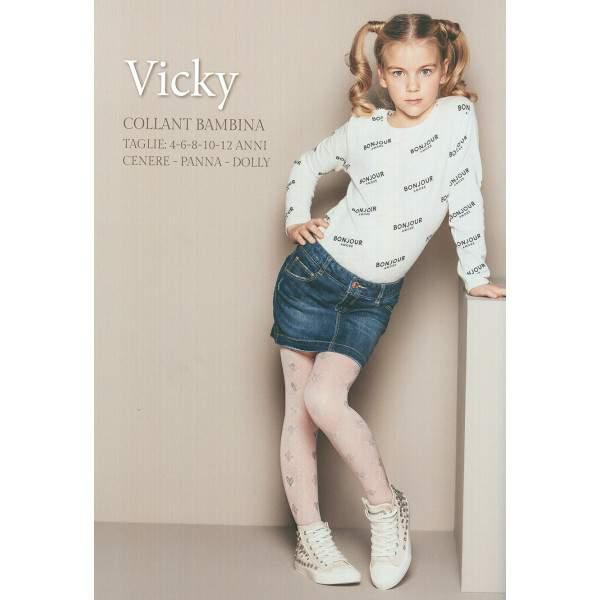 Bellissima Vicky szív és rombusz mintás gyerek harisnyanadrág ... e00fb2dded