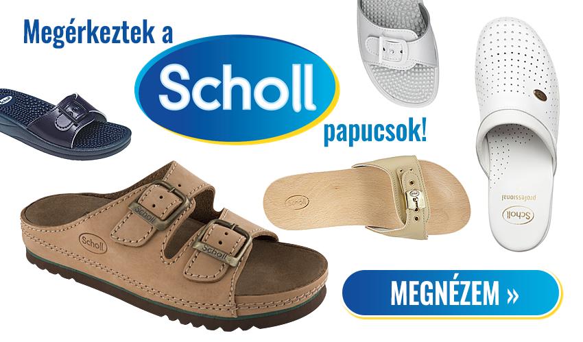 Scholl papucsok és klumpák